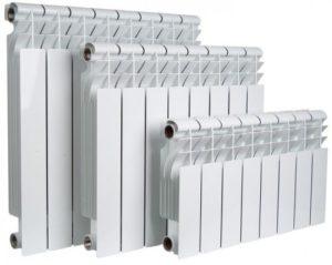 Алюминиевые радиаторы для обогрева помещений