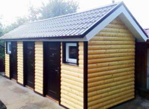 Деревянные хозблоки – оптимальные постройки для дачи