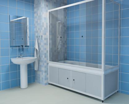 Как делается ширма для ванной и как ее выбрать