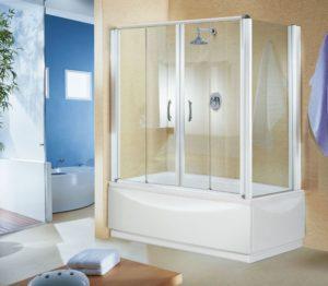 Преимущества штор для ванной из закалённого стекла