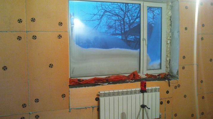 Утепление стен изнутри