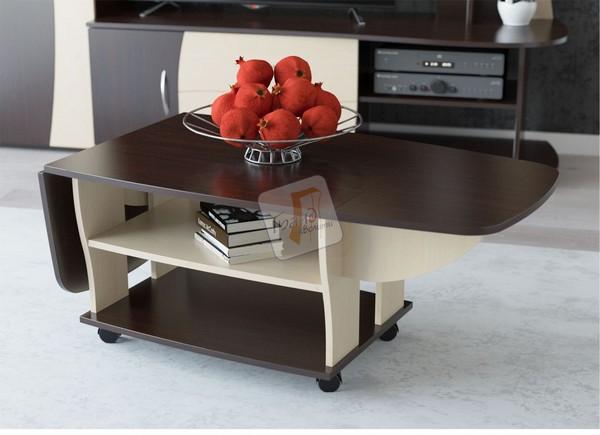 Журнальный столик на колесах: практичность, мобильность и красота в одном изделии
