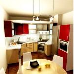 Дизайн и интерьер кухни в 9 кв. м: лучшие решения для небольшой площади
