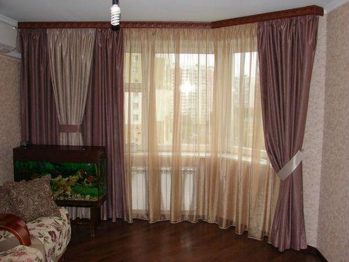 Как выбрать однотонные шторы для интерьера