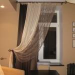 Как закрепить шторы по бокам к стене