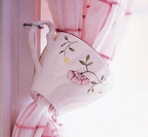 Красивые зажимы для штор своими руками