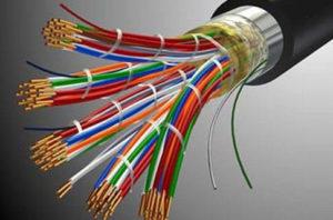 Основные характеристики кабеля ТППэп 10х2х0.5