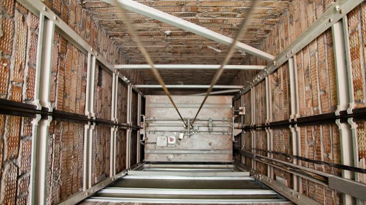 Шахты лифтов
