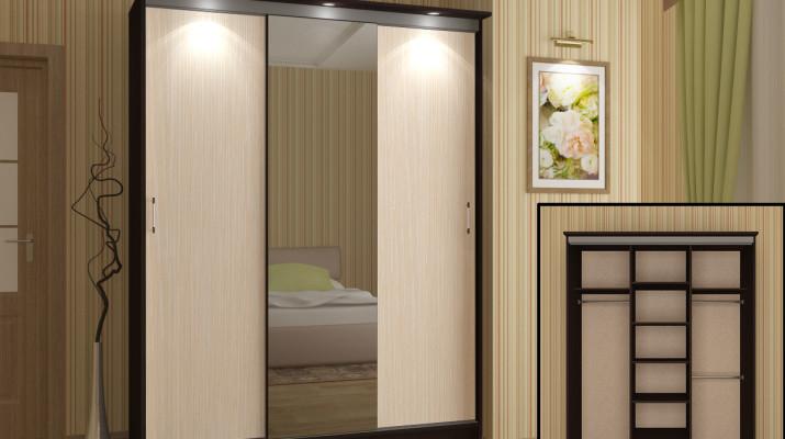 Шкафы-купе: малютки и гиганты для хранения одежды и комфорта