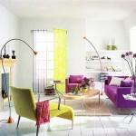 Сиреневый цвет в интерьере: весенняя теплота и мягкость