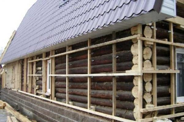 Утепление деревянных домов