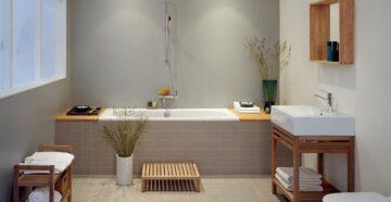 Обустройство интерьера ванной комнаты