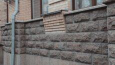 Отделка фасада камнем